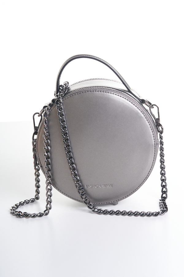 Bubble bag gunmetal grey 2
