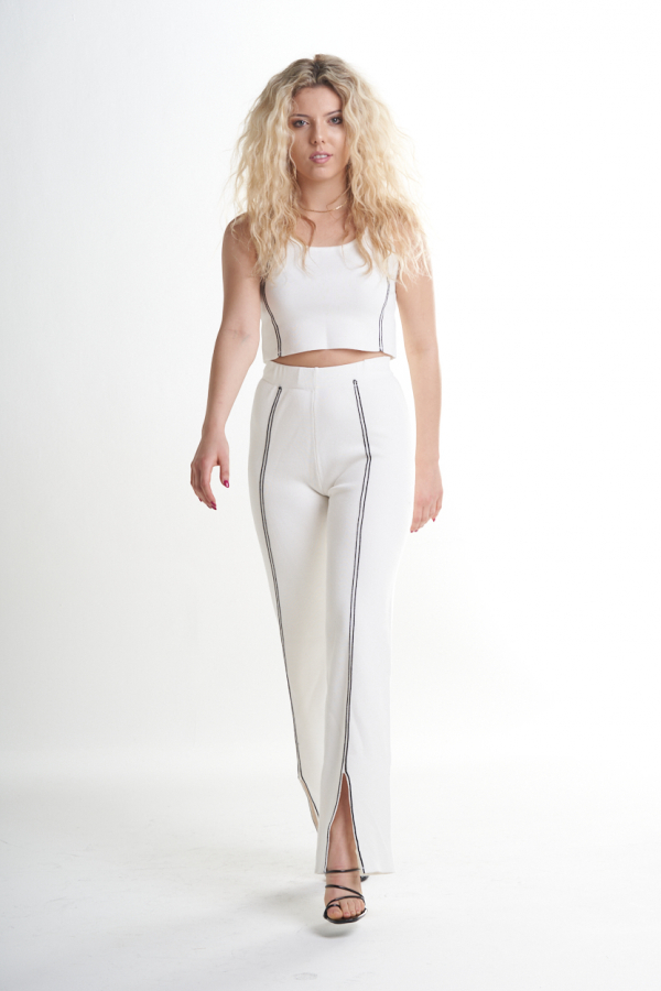 River delta white Top_Pant 2